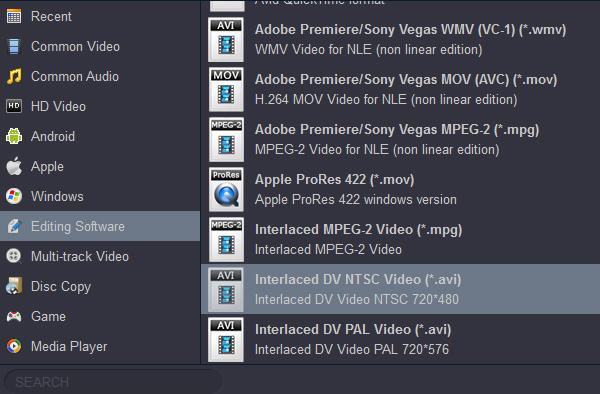 AVCHD to Pinnacle Studio-Convert AVCHD to AVI for Pinnacle Studio